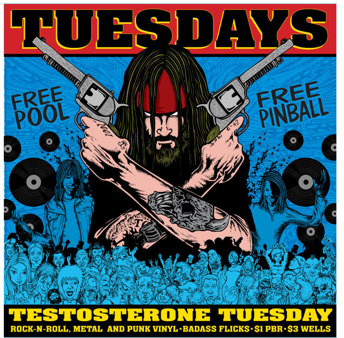 TESTOSTERONE TUESDAYS