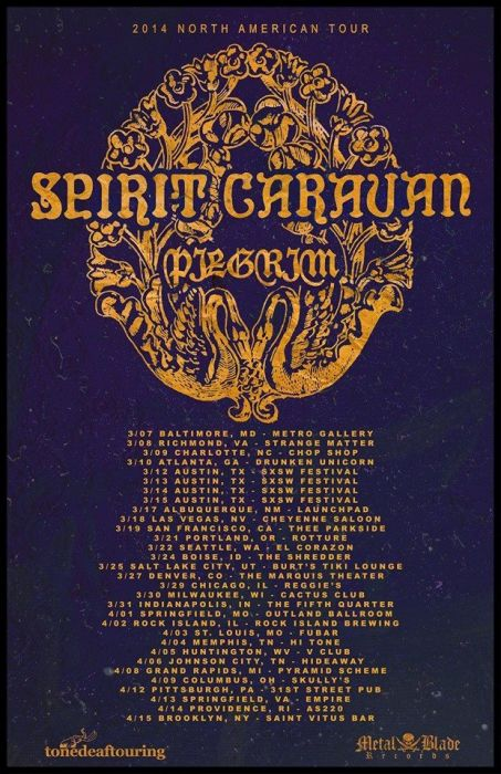 SPIRIT CARAVAN with Pilgrim, Waxy