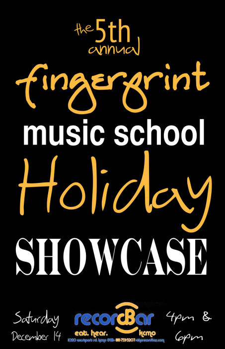 Fingerprint Music School Holiday Showcase