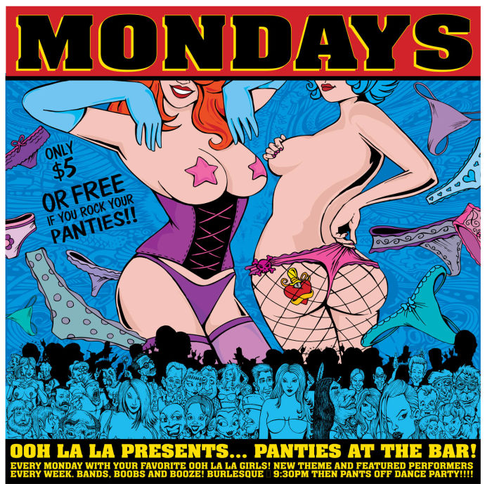 OOH LA LA PRESENST: PANTIES AT THE BAR