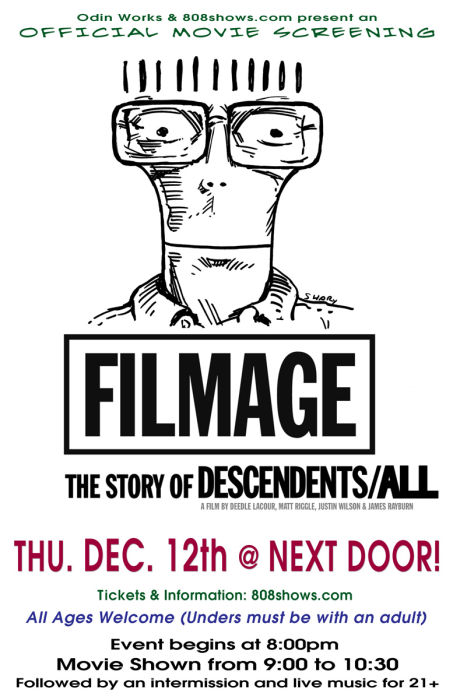 FILMAGE: The Story of Descendents / ALL  (movie)