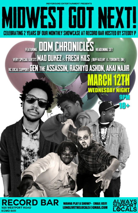 Dom Chronicles * Rashiyd Ashon * GEN the Assassin * Akai Najir