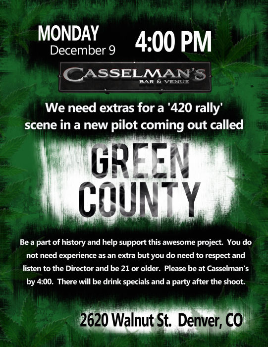 Green County Casting Call
