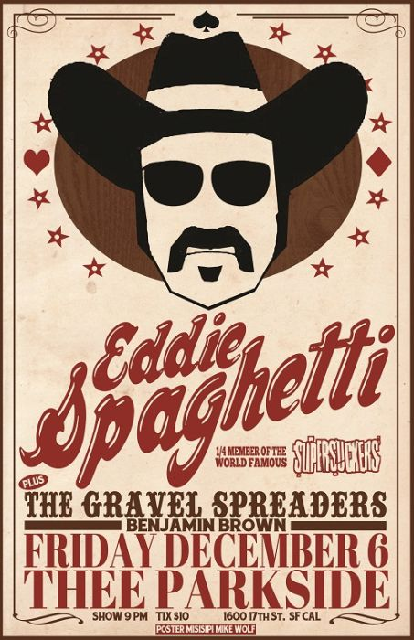 Eddie Spaghetti, The Gravel Spreaders, Benjamin Brown