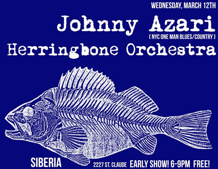 Johnny Azari & Herringbone Orchestra