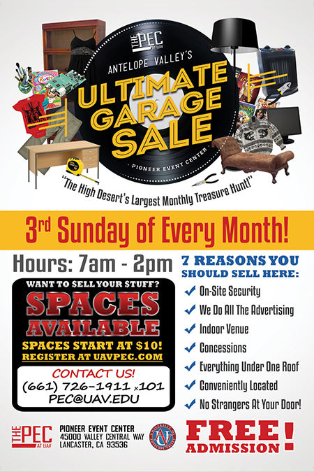 ULTIMATE GARAGE & CRAFTS SALE