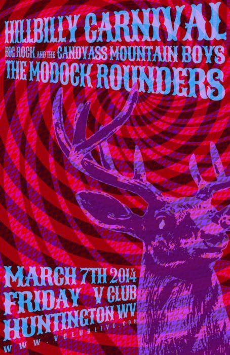 Hillbilly Carnival / Big Rock And The Candy Ass Mountain Boys / The Modock Rounders