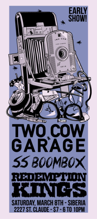 Two Cow Garage | SS Boombox | Redemption Kings