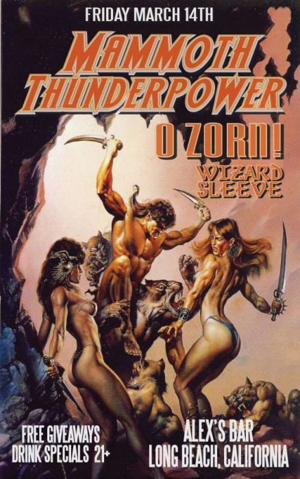 MAMMOTH THUNDERPOWER, O ZORN, WIZARD SLEEVE, AND SPECIAL GUESTS
