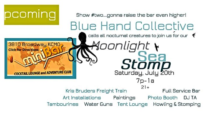 Blue Hand Art Collective Presents: Moonlight Sea Stomp