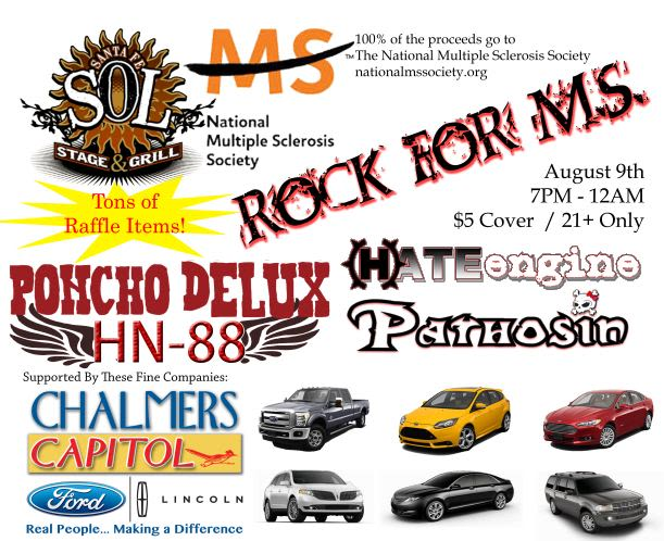 ROCK FOR MS