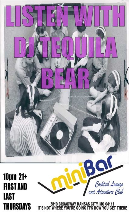 Listen With DJ Tequila Bear