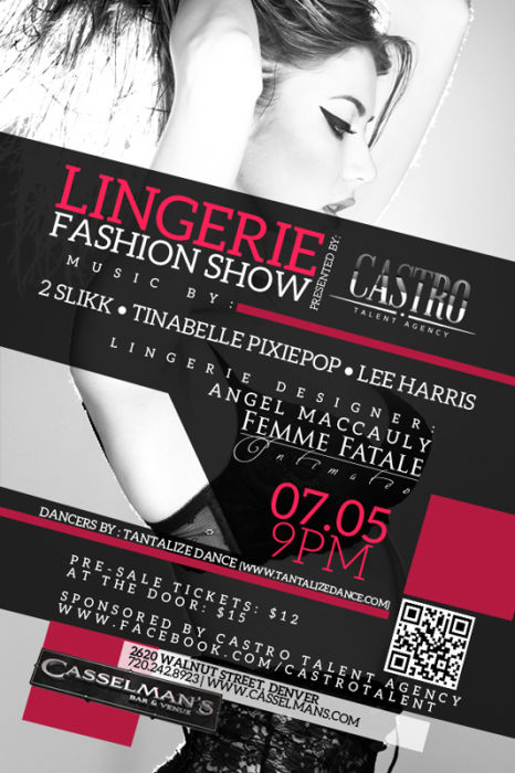 Lingerie Fashion Show