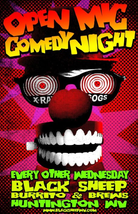 Black Sheep Comedy Open Mic Night