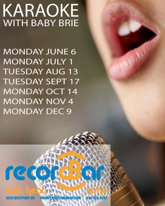Karaoke with Baby Brie- NO COVER