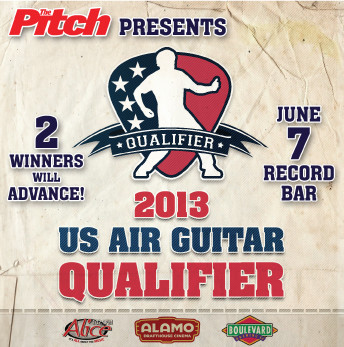 2013 US AIR GUITAR CHAMPIONSHIPS - KANSAS CITY QUALIFIER