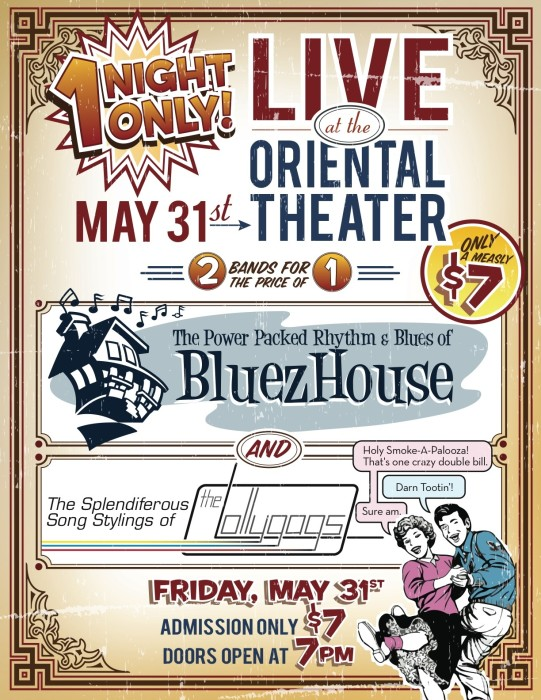Bluez House (an evening of funk/soul/R&B) w/ the Lollygags