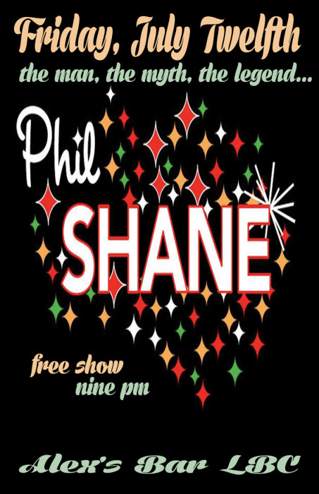 PHIL SHANE-THE ONE MAN LEGEND