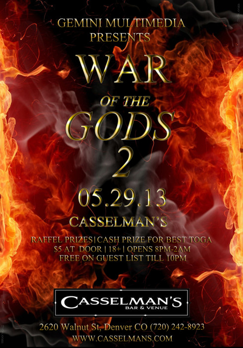 WAR OF THE GODS II