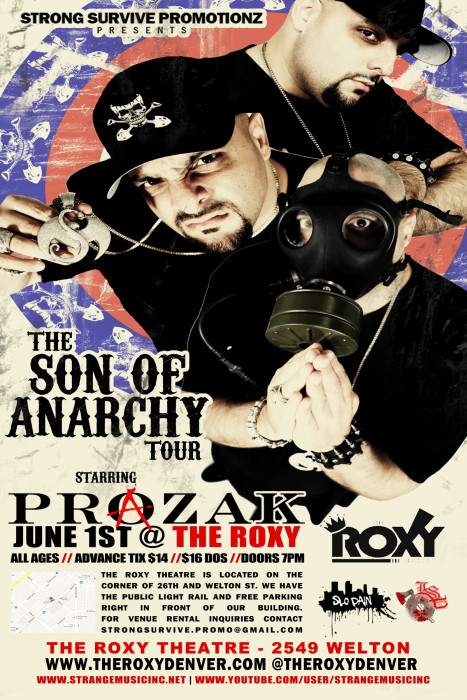 The Roxy 2 Year Anniversary with special guest Prozak