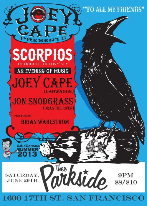 Scorpios, Joey Cape (Lagwagon), Jon Snodgrass (Drag the River), Brian Wahlstrom