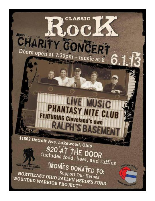 Charity Concert with... RALPH''S BASEMENT