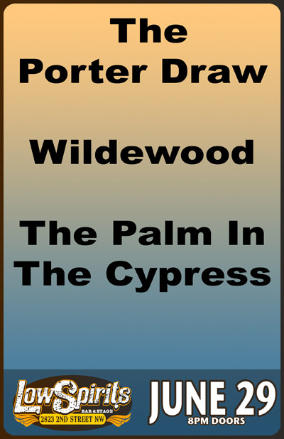 The Porter Draw * Wildewood * The Palm In The Cypress