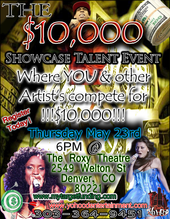 The $10,000 Showcase Talent Event