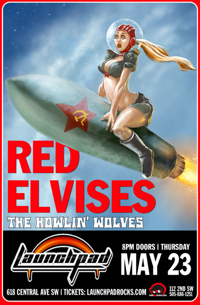 Red Elvises * The Howlin