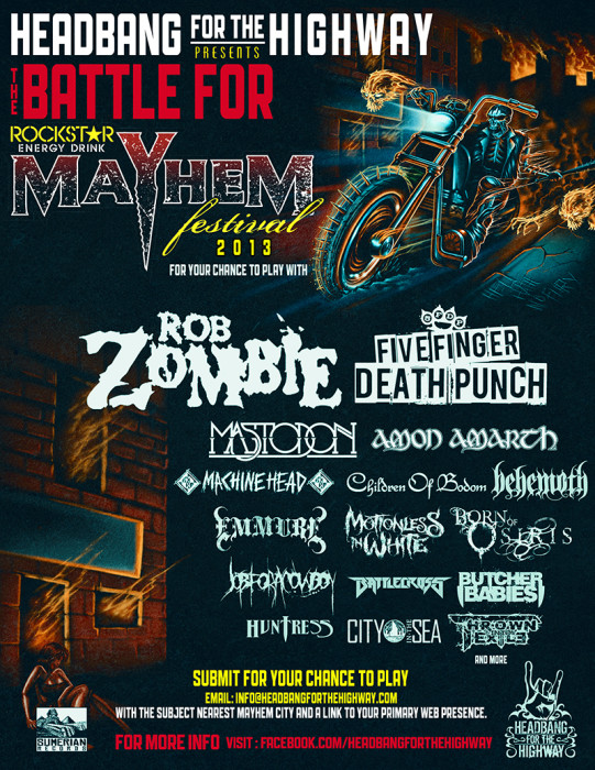 Mayhem Festival Battle of The Bands