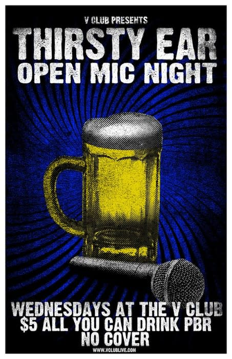 Thirsty Ear Open Mic Night!