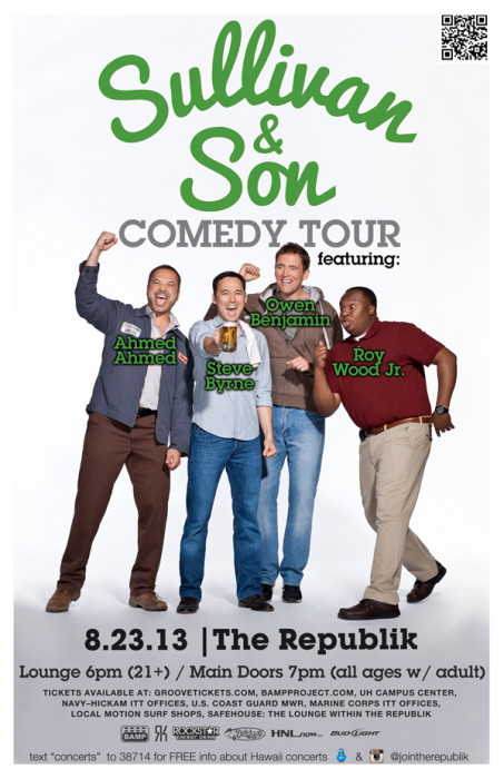 The Sullivan & Son Comedy Tour