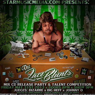 STARMUSICMEDIA.COM PRESENTS:  BIZARRE FROM D12 MIX CD RELEASE AND TALENT COMPETITION