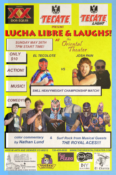 LUCHA LIBRE & LAUGHS
