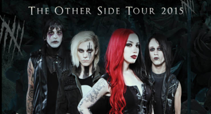 New Years Day * Get Scared * Eyes Set To Kill * The Relapse Symphony * Darksiderz