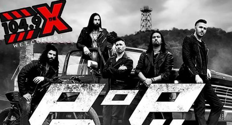 POP EVIL + ANOTHER LOST YEAR + ROMANTIC REBEL