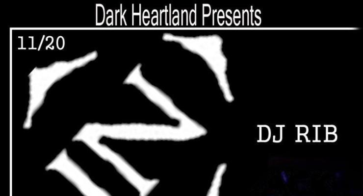 DJ RIB of Razed in Black