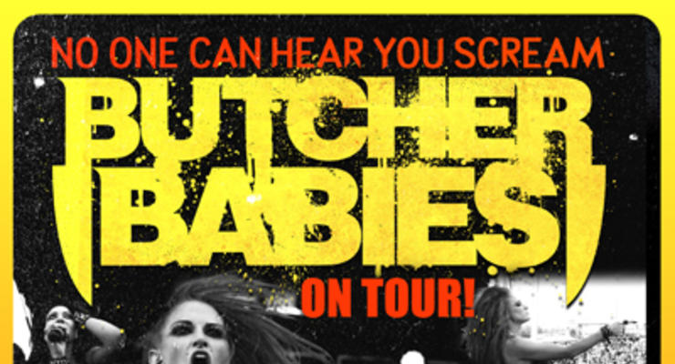 Butcher Babies * Anti-Mortem * Blinddryve * Inhuman Hands