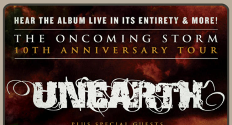 Unearth * Texas In July * Cruel Hand * Armed For Apocalypse