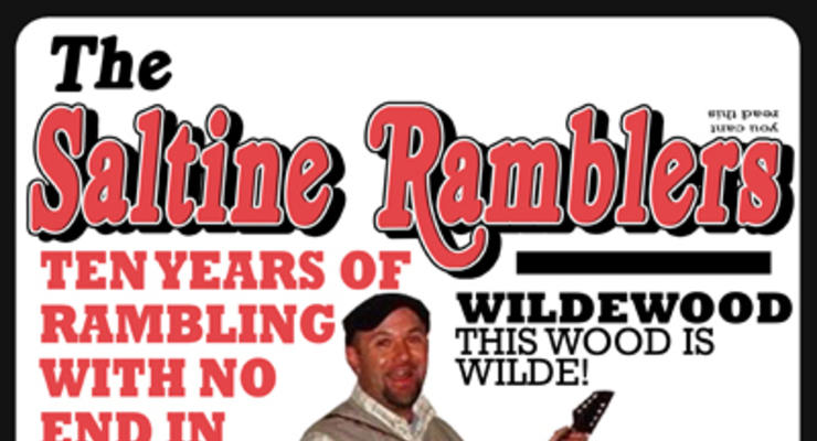 The Saltine Ramblers 10 Year Anniversary Show! * Wildewood * Pawn Drive * Peg Leg Joe