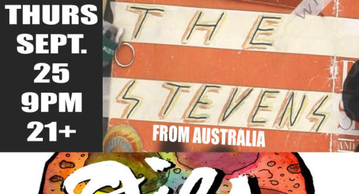 The Stevens (Aussie Underground POP HEORES)!! / OILS / KOOL 100