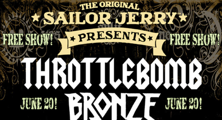 Throttlebomb and Bronze CD Release Party