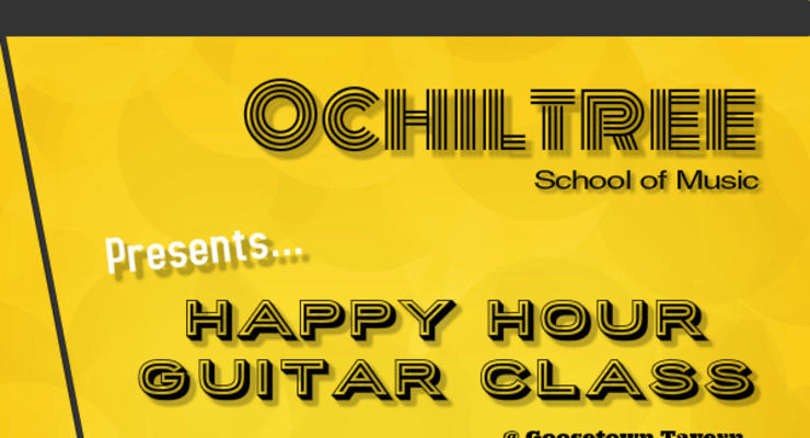 Happy Hour Guitar Class