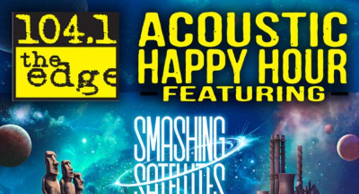 Smashing Satellites acoustic happy hour