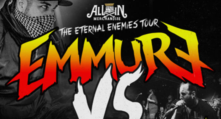 Emmure * The Acacia Strain  * Fit For A King * Kublai Khan * Sylar