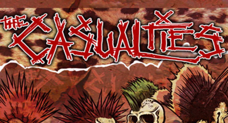 The Casualties * The Bad Engrish * Sniper 66 * Brassknuckle Boys