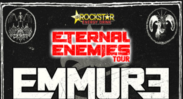 Emmure * The Acacia Strain * Stray From The Path * Fit For A King * Kublai Khan
