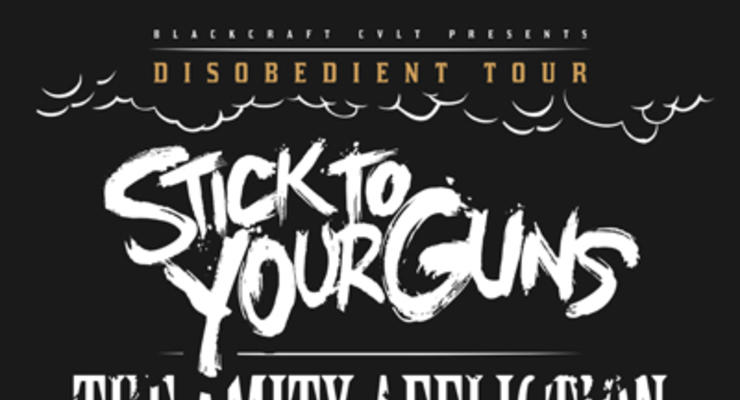 Stick To Your Guns * The Amity Affliction * Being As An Ocean *
